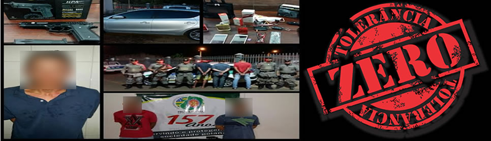 Policiais Militares da 23ªCIPM prendem responsáveis por roubos em Damolândia e Nerópolis