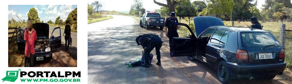 CPR/COD recapturam foragido da Justiça