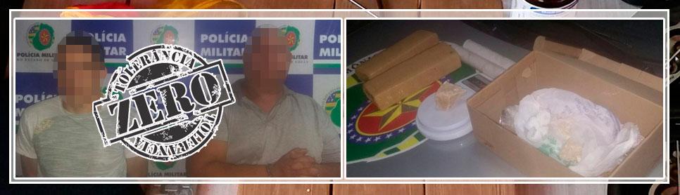 Operação Fecha Boca de fumo prende mais dois traficantes em Goiânia