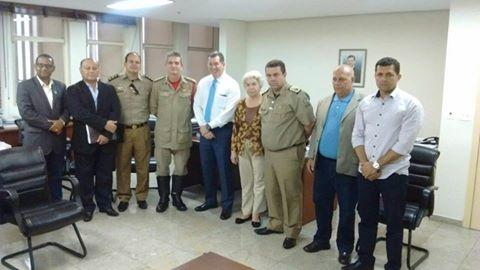 Entidades e Comandantes Gerais reúnem com Chefe da Casa Civil para tratar da Previdência dos Militares e Pensionistas e das Promoções do Césio 137