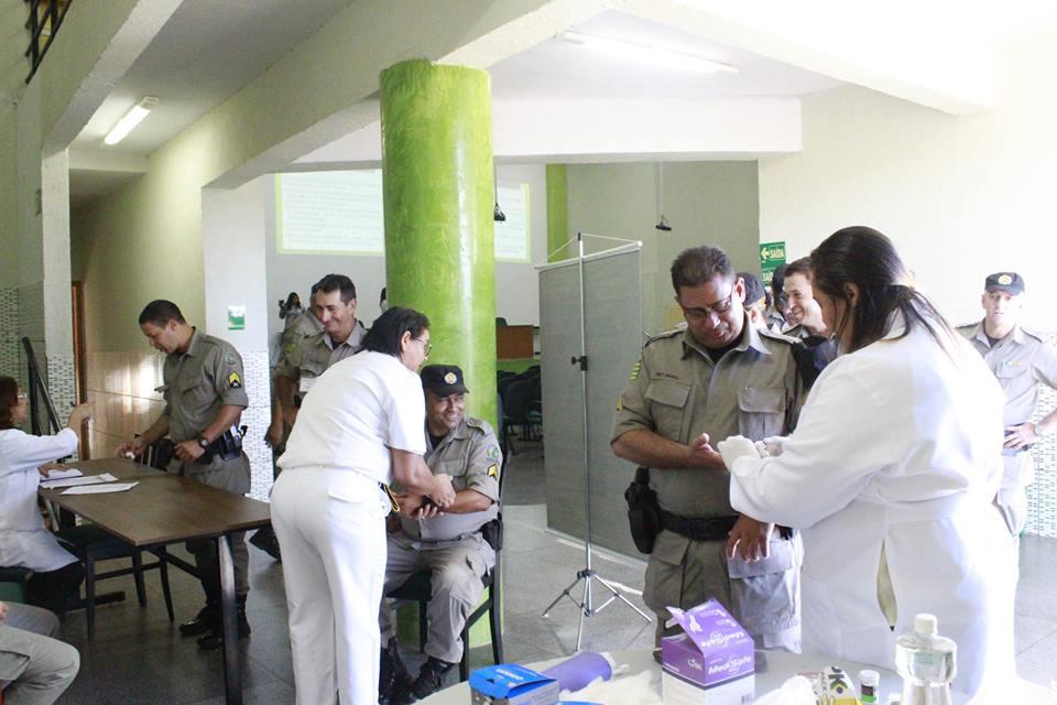 CRAP/ASSEGO e demais Entidades parceiras continuam com trabalho de  prevenção e orientação para os militares