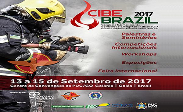 Maior evento da América Latina para bombeiros e profissionais de segurança, saúde e engenharia ligados a emergências acontecerá em Goiânia