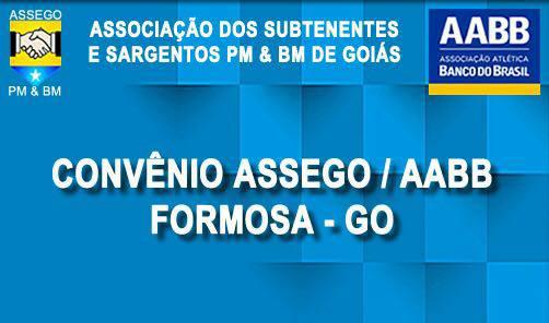 ASSEGO celebra convênio com a AABB Formosa