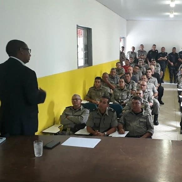 Assego itinerante visita associados da 20ª CIPM em São Luis de Montes Belos