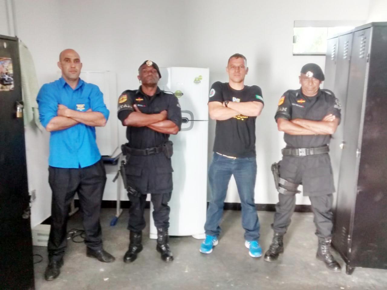 Diretores visitam base da Rotam