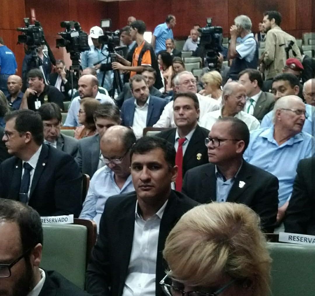 Vice-presidente da Assego participa de audiência pública para debater sobre a nova previdência