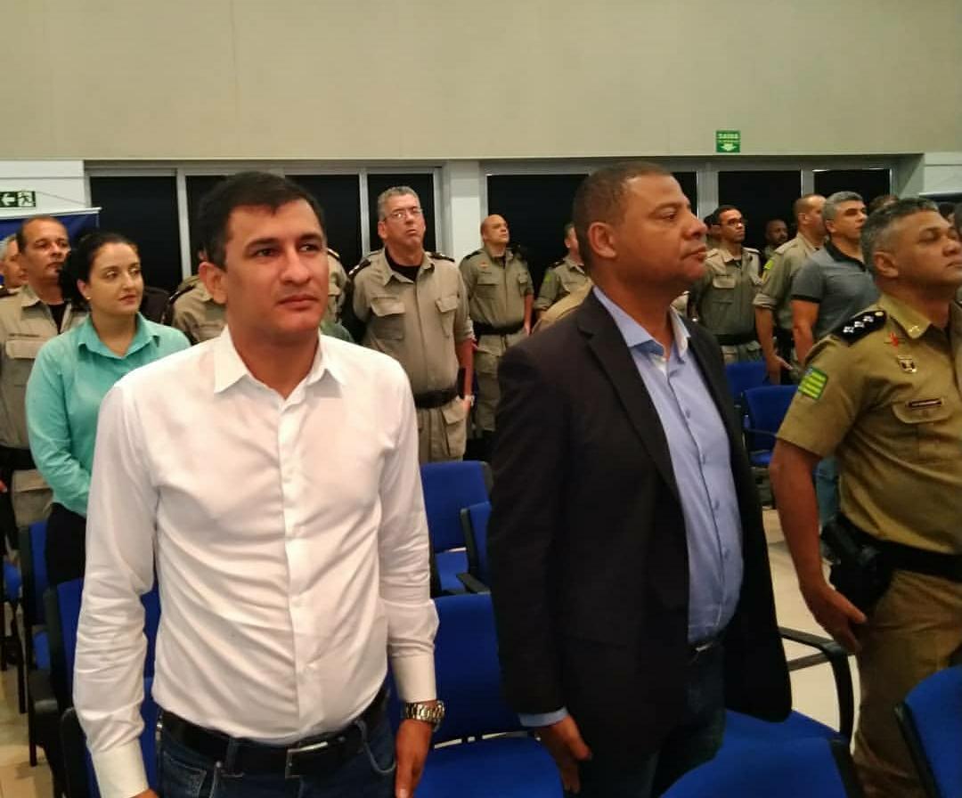 Vice-presidente da Assego participar do lançamento do Programa de Adaptação à Reserva do Policial Militar (PARe)