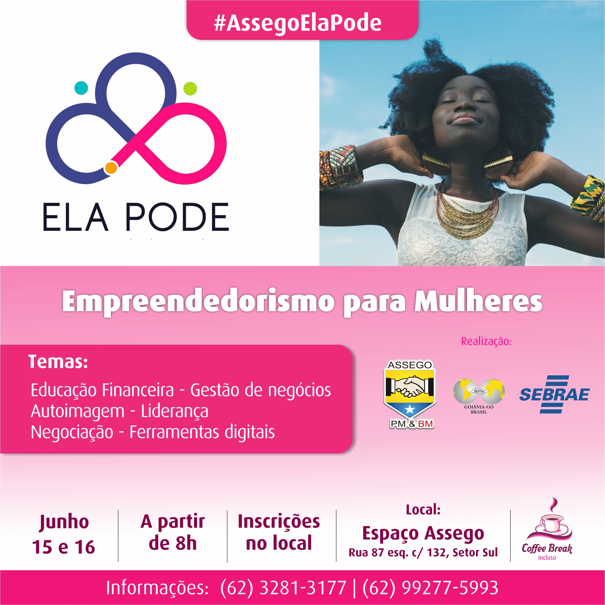 Assego oferece Workshop de Empreendedorismo para mulheres