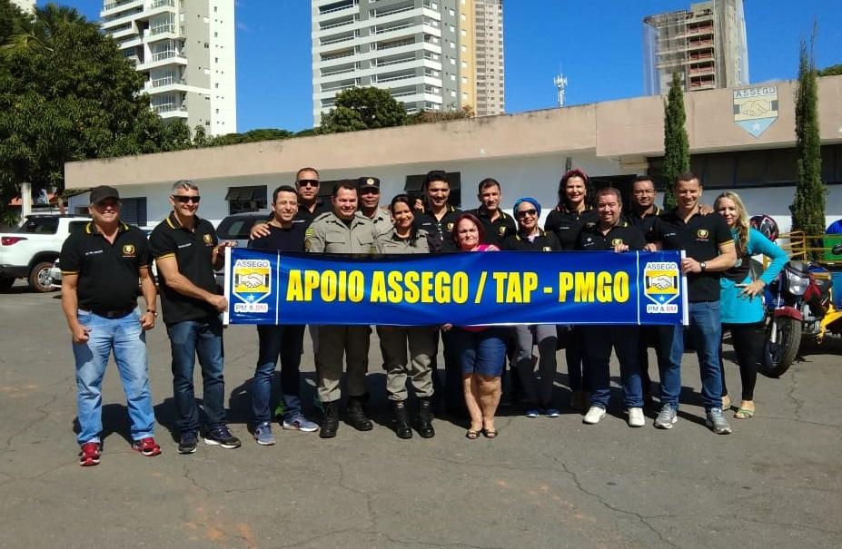 Assego apoia inscritos ao TAP realizado no último domingo