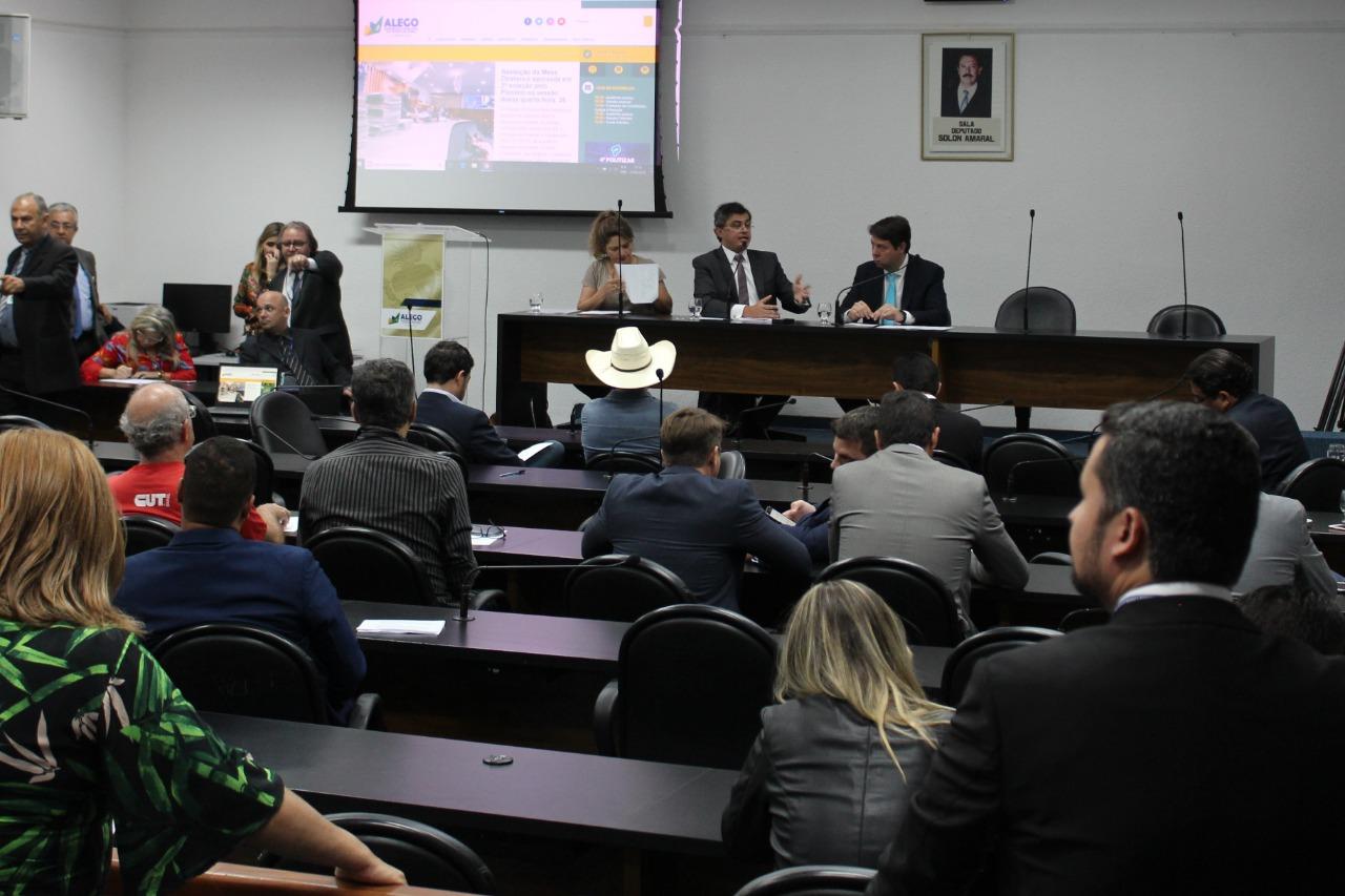 Assego comparece a Audiência Pública sobre o reajuste do Ipasgo
