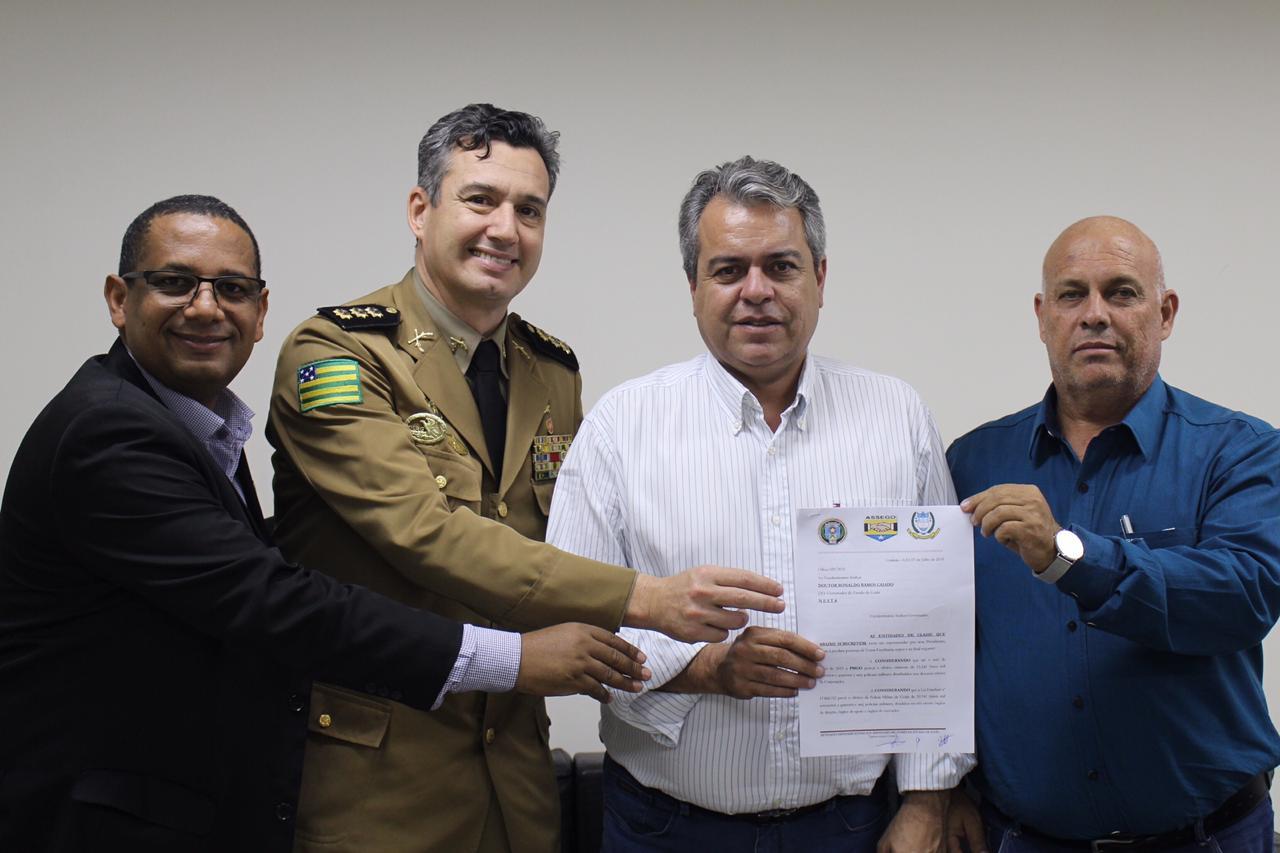 Entidades de Classe dos Militares de Goiás reivindicam melhorias para a categoria