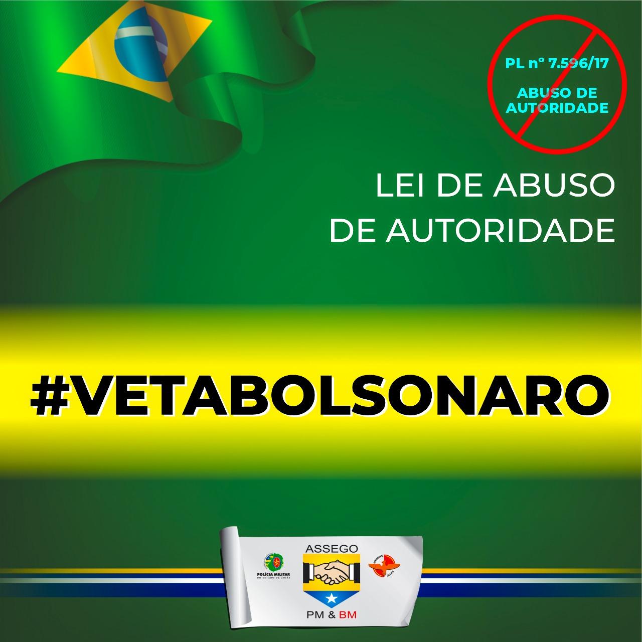#vetabolsonaro – Lei de Abuso de Autoridade