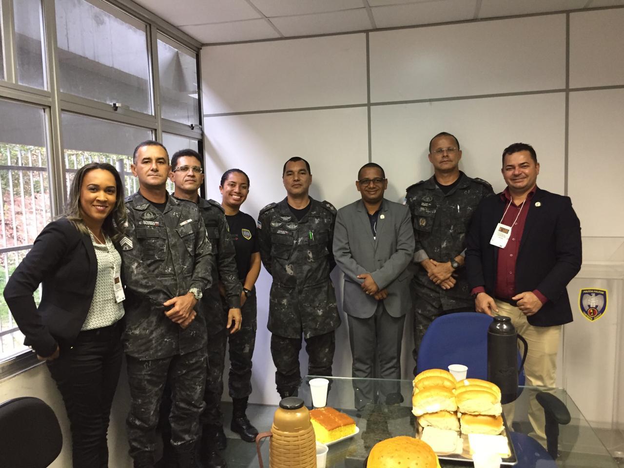 ASSEGO no Espírito Santo | Policia Militar do Espírito Santo recepciona Comitiva da Assego
