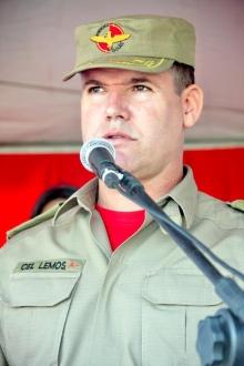 CEL Lemos é nomeado novo comandante do Corpo de Bombeiros do Estado de Goiás