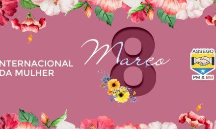 ASSEGO cria série de vídeos em homenagem ao Dia da Mulher