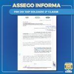 ENTIDADES REPRESENTATIVAS BUSCAM FIM DO TAP SOLDADO 2º CLASSE