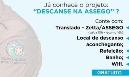 Projeto: Descanse na ASSEGO!