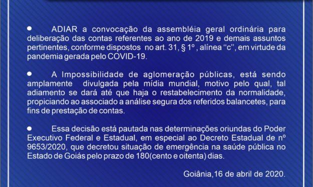ASSEGO INFORMA: Saiba as últimas decisões do Conselho Fiscal