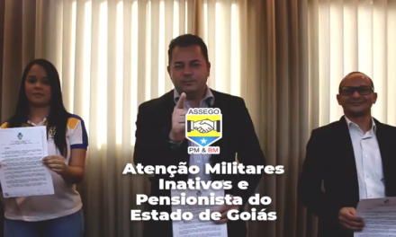 ASSEGO GANHA LIMINAR CONTRA DESCONTO DOS MILITARES INATIVOS E PENSIONISTAS PELA GOIASPREV