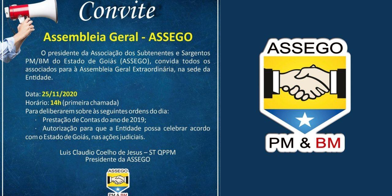 Convite Assembleia geral – assego