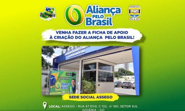 ASSEGO APOIA ALIANÇA PELO BRASIL