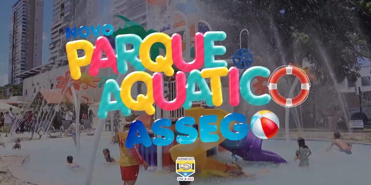 Novo parque aquático